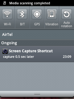Capture screen acitvity of your android mobile