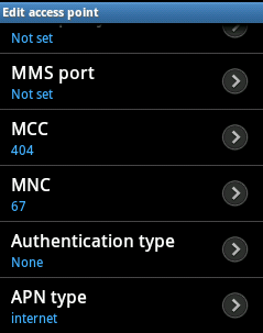 APN of Reliance for Android Samsung, Micromax, Sony