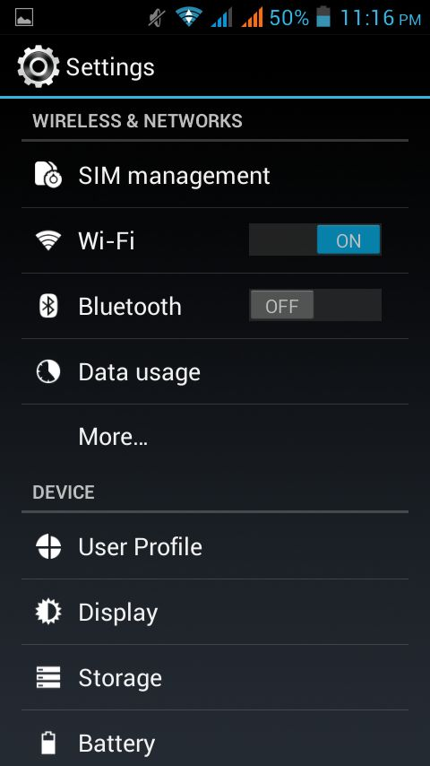 Connect to share internet of One Android with other mobile