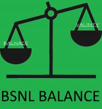 Check internet balance BSNL 2G/3G or data pack of BSNL