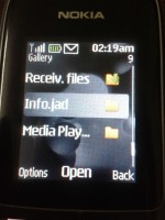 Hide files folder in java Nokia mobile without app 1