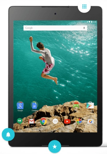 HTC Google Nexus 9 Feature and Price