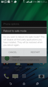 Boot android phone or tablet in safe mode for troubleshooting