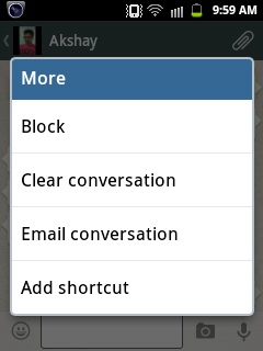Create Whatsapp contact short-cut android
