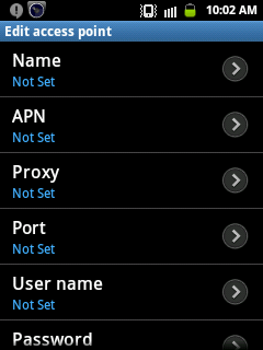 All USA service providers APN setting for Android- list 2