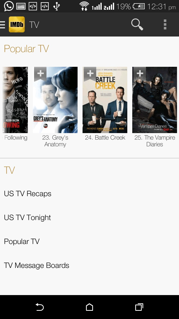 Download IMDb Movies & TV App for Android 1