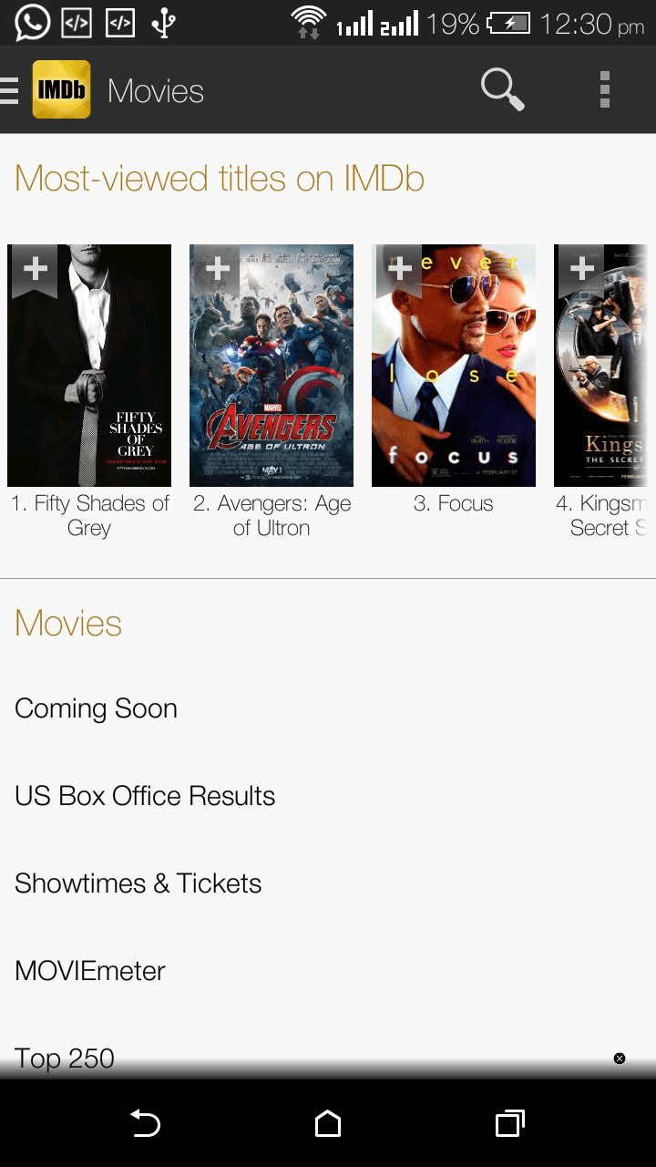 Download IMDb Movies & TV App for Android