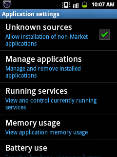 Move Apps to an SD Card on Android 2