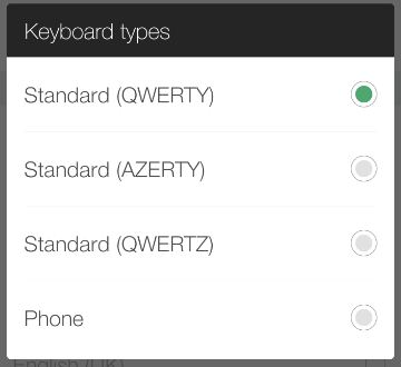 Change Keyboard layout pattern in android 1