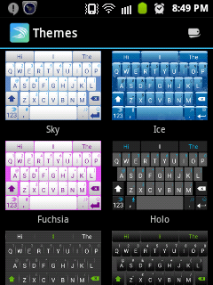Swiftkey Keyboard for android and iPhone 3
