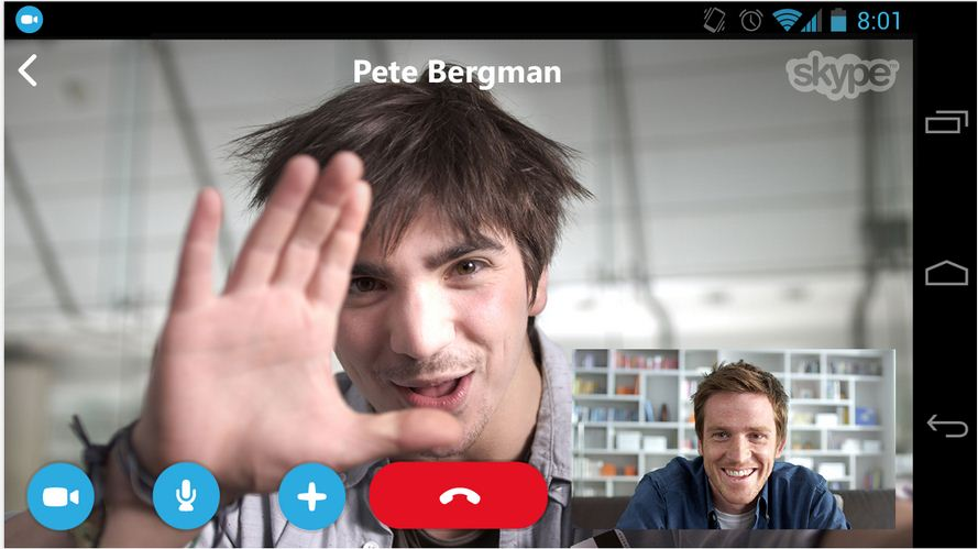 Comparison of Top 3 Video Calling Messenger Apps - Android  4