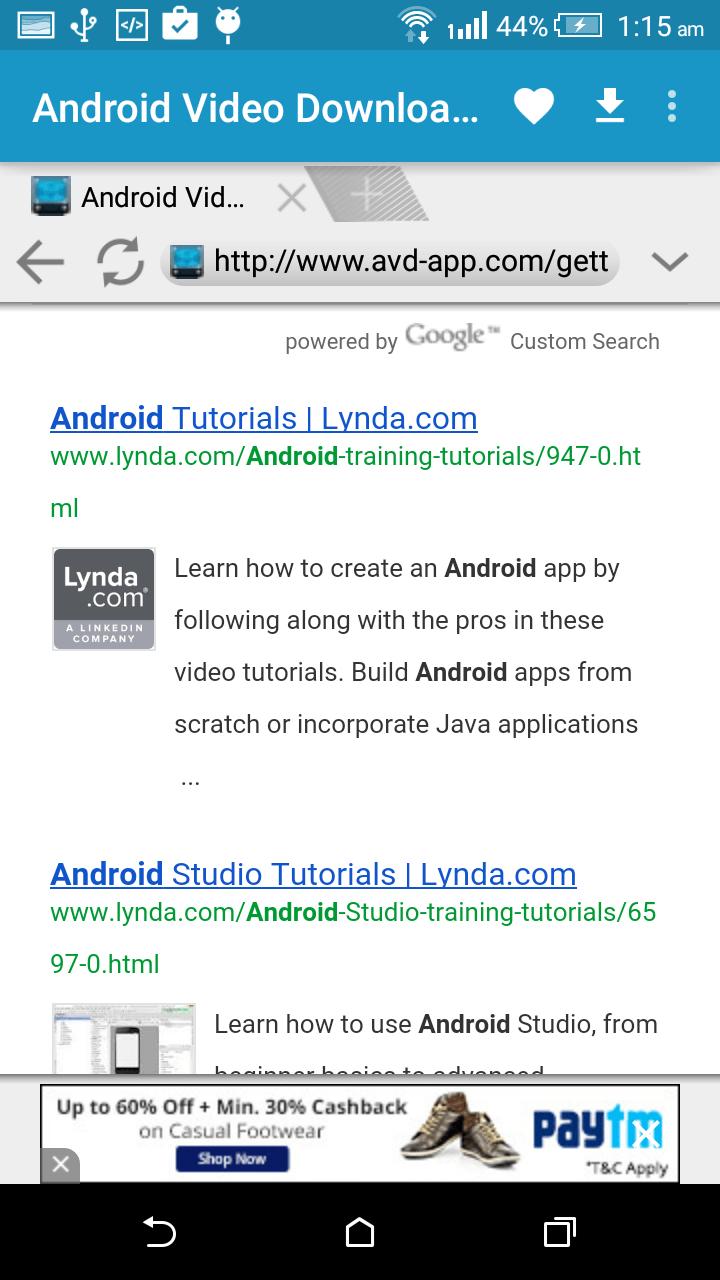 AVD Download Video Downloader App