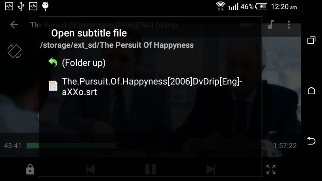 Add Subtitle to MX player