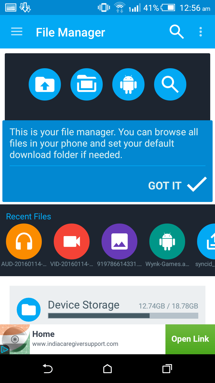 Download Manager for Android- To Download Videos, Images, Audio or other files