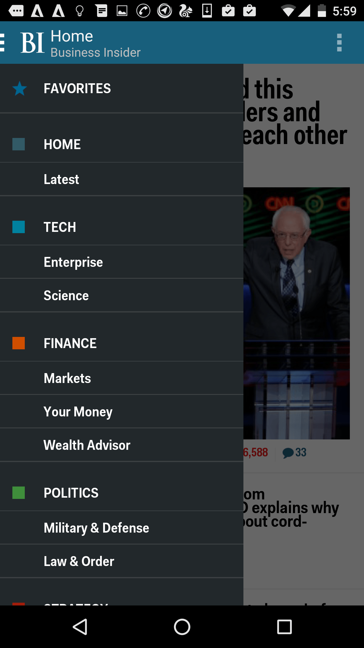 Business Insider - Best Business news app