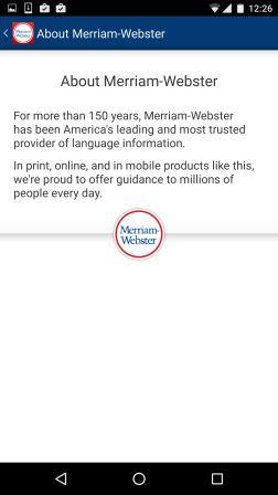 Dictionary - Merriam-Webster 5