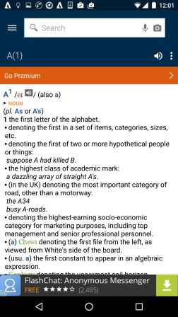 Oxford Dictionary App