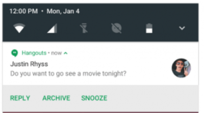 Android N feature