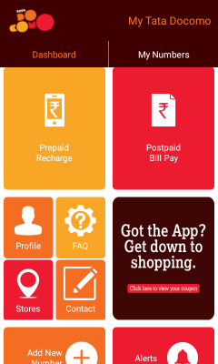 Download My Tata Docomo Application