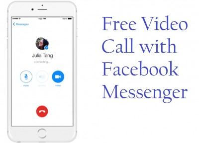 how to make Free video call with Facebook messenger app