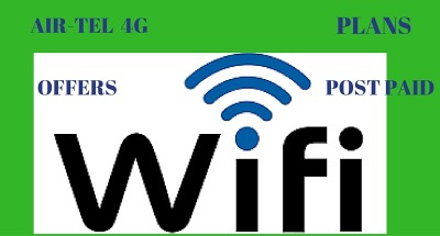 AIRTEL W-IFI PLANS