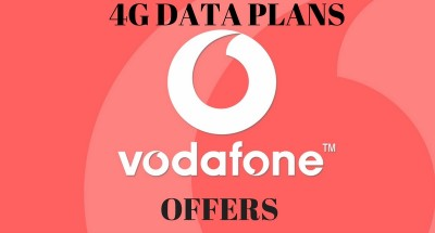 VODAFONE, 4G DATA PLANS-